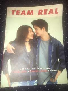 Team Real  Book (Nadine Lustre James Reid)