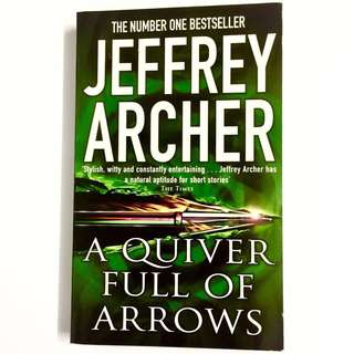 A Quiver Full of Arrows By Jeffrey Archer (short stories thriller book)