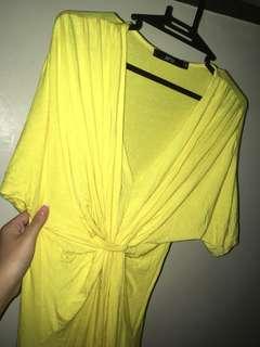 Goddess yellow dress