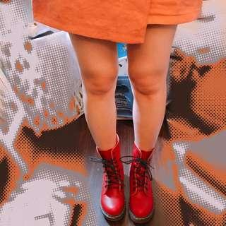 🚚 Air space酒紅馬丁靴