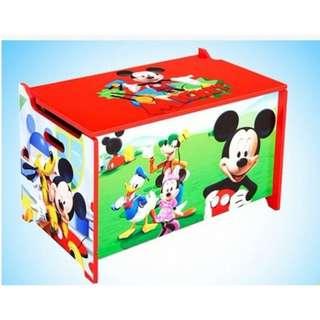 Kids Table..MICKEY STORAGE BOX