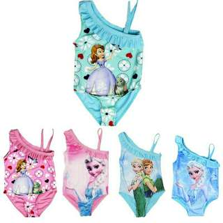 *FREE DELIVERY to WM only / Pre order 15-18 days* Kids 1 piece swimwear each as shown design/color. Free delivery is applied for this item.