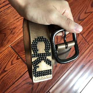 Authentic CK belt size 75