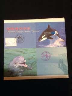 鯨豚邮票專冊