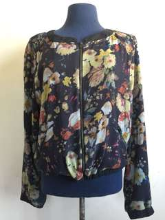 MNG Light Floral Jacket