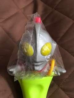 全新 購自日本 日版 Yutaka 1997 Ultraman Q版 咸旦超人 吉田 飛行形態 連 死光環 Figure 景品