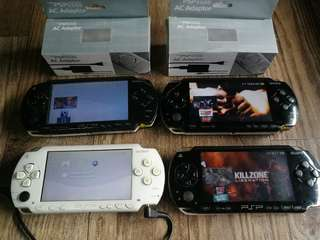 Sony PSP phat 1000 series downloadable complete