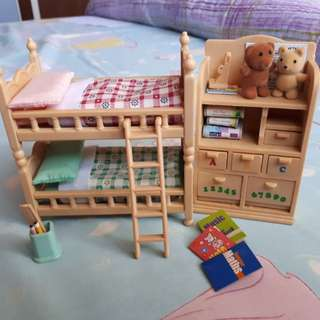Sylvanian Families Children's Bedroom Furniture Set