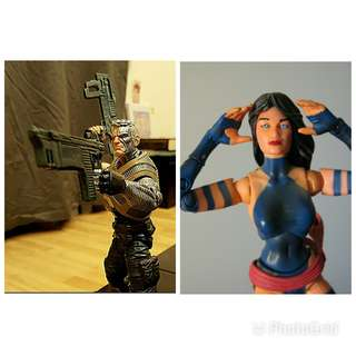 Marvel Legends Cable & Psylocke Xmen