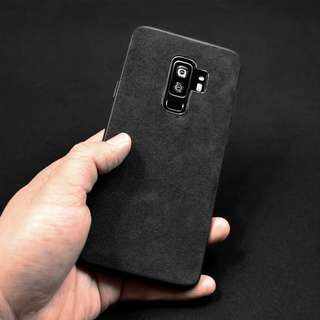 Samsung Galaxy S9 | S9 Plus Premium Alcantara Cover Case