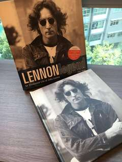 John Lennon Legend Box Book limited Collection Mint Condition