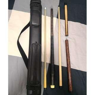 Predator cue (3K) & shaft (314) set