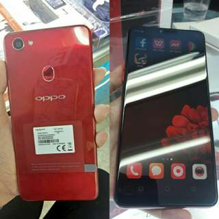 Kredit Oppo F7 Red proses cepat tanpa kartu kredit