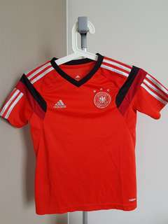 Authentic Kids Addidas Germany Football Jersey