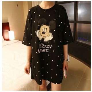 Polka Dots Mickey Mouse Dress