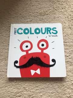 幼兒sensory book ( my first colors of touch)