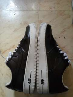 Nike Airforce Black and White Size 10.