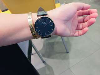 Authentic Daniel Wellington Bought in Lazada Retail price 12k with box and paper
