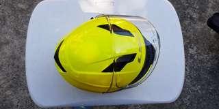 Ls2 Hi-Viz Helmet