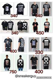 off white collection for sale