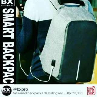 Tas Ransel Smart Backpack Tas Laptop Kuliah Bisnis Travel