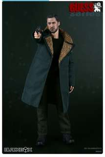 BB9005-GUESS ME SERIES REPLICANT KILLER COME WITH A VEST BELT & A PISTOL GUN 1/6 SCALE (BLADE RUNNER)