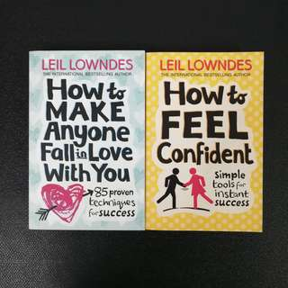 Motivational Books by Leil Lowndes