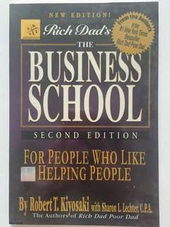 Rich Dad THE BUSINESS SCHOOL 2ND EDITION