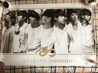 (買一送一)Infinite CD poster