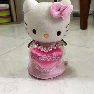 Hello Kitty Sanrio soft toy with zip