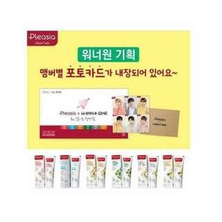 Wanna oneXpleasia(upcoming readystock)price inc postage