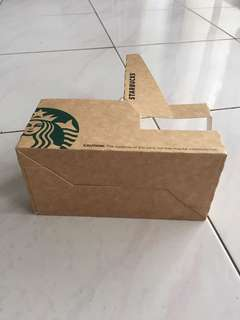 Starbuck coffee holder ( paper )