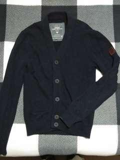 CORDON Men Navy Premium Cardigan