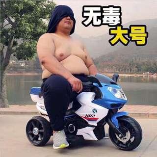 Blue BMW HP2 Rechargeable Big Bike Motorbike Toy Car