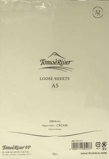 Tomoe River A5 Paper (52g) - 5 sheets