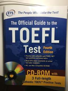 The official guide to the TOEFL ( Fourth Edition) with CD-ROM