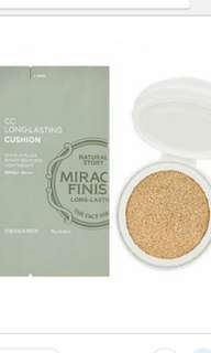 The face shop cc long lasting cushion refill