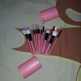 READY FREE ONGKIR NEW MAKE UP BRUSH SET 12 PCS