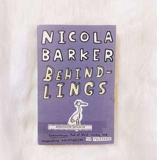 Behindlings by Nicola Barker