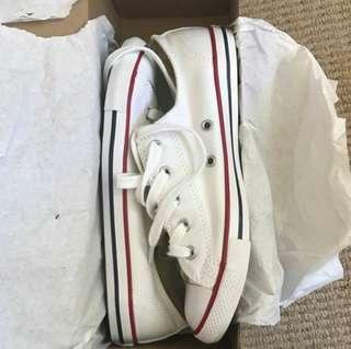 Converse white size 7