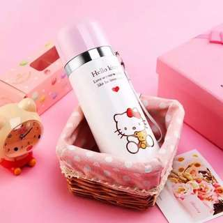Preorder Hello Kitty Stainless Steel Thermos Bottle