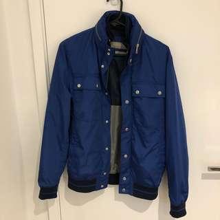 Zara Men's Jacket with Zip Hood