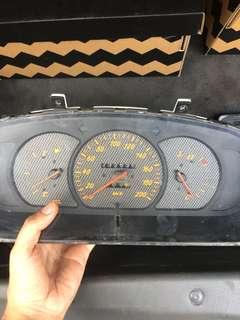 Meter manual satria wira 1.3