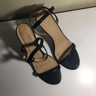 PARISIAN single slim strap stiletto heels