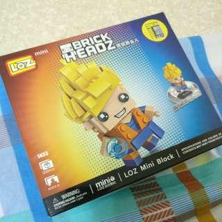 LOZ Mini Block #BrickHEADZ #Lego #悟空 #Goku