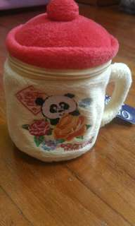 Vintage cup in soft material
