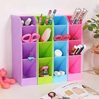4 compartments multi-purpose desk organizer