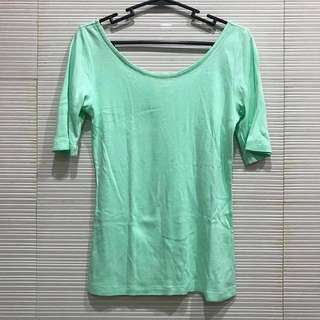 Mint Green Gap Top