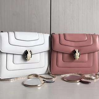 Bvlgari Serpenti Forever Flap Cover Bag (Just Look At The Price Without Looking At The Quality,Please Bypass.Tq)