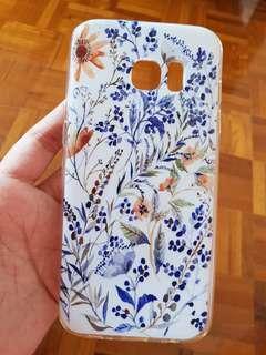 Samsung S7 EDGE - flower case